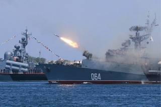 В Крыму оккупанты во время учений утопили две ракеты