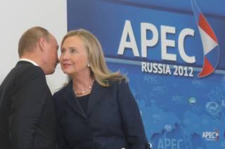 Клинтон уличили в любви к Путину