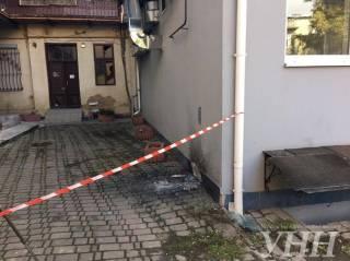В Ивано-Франковске пытались взорвать офис ОБСЕ