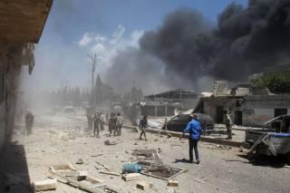Россия продолжает бомбить Сирию