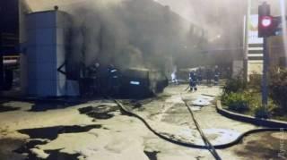 В Одессе на автозаправке произошли 2 взрыва