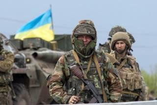 За сутки в зоне АТО обошлось без потерь в рядах украинских воинов