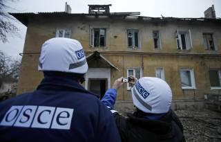 ОБСЕ: За два дня на Донбассе зафиксировано более 600 взрывов