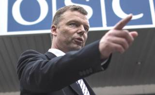 Хуг рассказал, что именно мешает работе миссии ОБСЕ на Донбассе