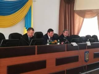 Луценко представил нового прокурора Запорожской области