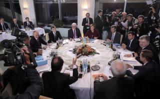 В Берлине начались переговоры лидеров стран «нормандской четверки»