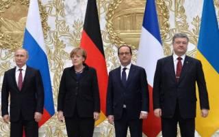 Встреча «нормандкой четверки»: Порошенко не пожал руку Путину