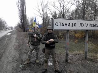 Эпицентр боевых действий переместился в Станично-Луганский район. Ранен один украинский воин