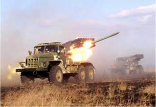 На Луганщине боевики снова пустили в ход «Грады»