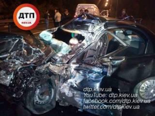 Смертельное ДТП под Киевом. Погибли три человека