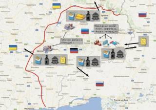 Российские СМИ пишут о масштабных контрабандных потоках на оккупированном Донбассе