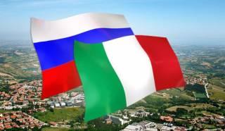 Италия играет за команду Путина