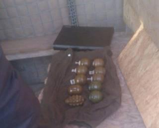 В Днепропетровскую область пытались переправить боеприпасы из зоны АТО