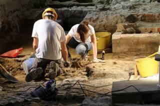 На Житомирщине нашли старинное подземелье