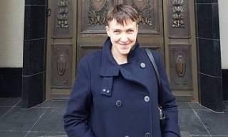Савченко примчалась в Москву на суд