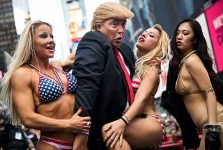 По Трампу решили ударить с помощью его двойника