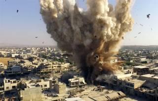 Кто-то разбомбил школу в Алеппо, погибли дети. Представитель России в ООН очень надеется, что они не причастны