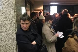 Визит Савченко в Москву только вредит, - Фейгин