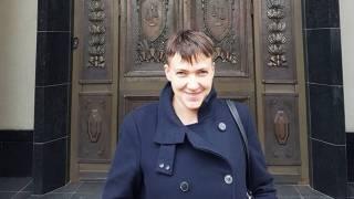 Погуляв по Красной площади, Савченко перекусила в грузинском ресторане