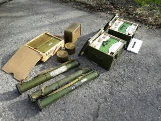 В зоне АТО обнаружили сразу 4 тайника с боеприпасами