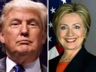 Опросы в США противоречат  друг другу. Теперь Трамп опережает Клинтон