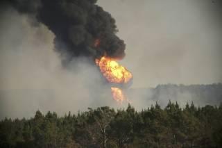 В Штате Алабама произошел взрыв на газопроводе