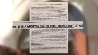 Католическая церковь пугает сторонников Клинтон смертным грехом и адом