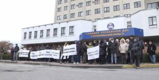 Тернопольские аграрии вышли на митинг против корумпированых налоговиков