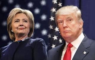 Трамп, утверждавший, что Клинтон должна сидеть в тюрьме, поблагодарил ее за службу стране
