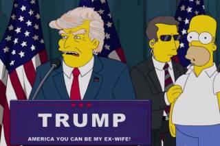 Создатели «Симпсонов» предостерегали американцев от победы Трампа еще 16 лет назад
