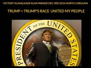 Ку-клукс-клан анонсировал «Парад победы» в честь Дональда Трампа