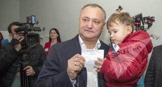 Молдова выбрала пророссийского президента Игоря Додона