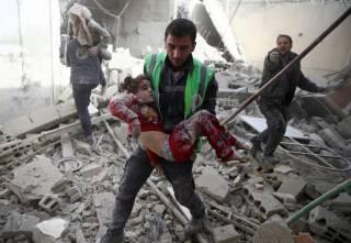В окрестностях Алеппо чья-то авиация разбомбила третью больницу за сутки