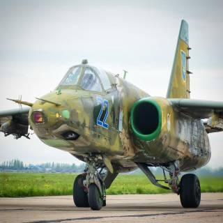 «Летающие танки» украинской авиации -- штурмовики Су-25 в войне на Донбассе