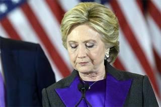 Клинтон рассказала, как тяжело переживала поражение
