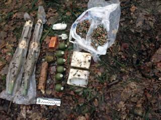 На Харьковщине нашли тайник с боеприпасами