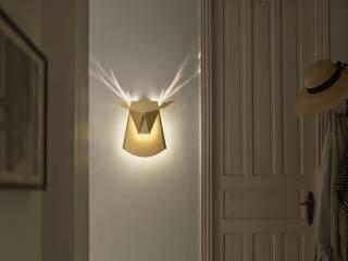 Израильский дизайнер решил, что оригами как нельзя лучше подходит для создания светильников