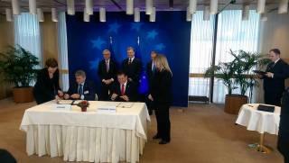 Украина и ЕС подписали ряд соглашений