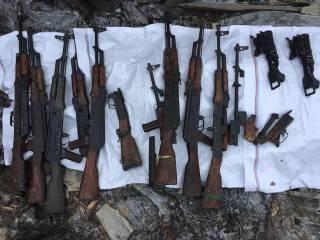 В Киев пытались переправить оружие из зоны АТО