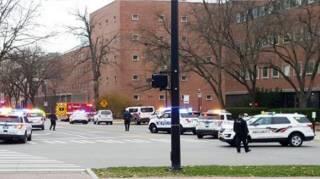 В США неизвестный открыл стрельбу на территории университета. Погибли три человека