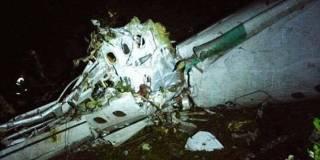 В Колумбии разбился самолет с бразильскими футболистами на борту