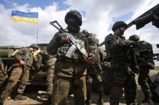 За сутки в зоне АТО ранения получили 5 украинских бойцов. За все время операции погибли более 2 тысяч военных