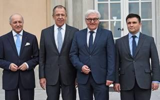 «Нормандская четверка» уже в Минске
