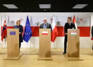 Страны Вышеградской четверки выступили за резкое расширение Евросоюза. Об Украине речи не идет