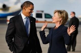 Обама тонко подколол Хиллари Клинтон, заявив, что его жена никогда не будет баллотироваться на пост президента