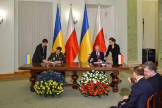 Украина и Польша подписали соглашение о сотрудничестве в сфере обороны