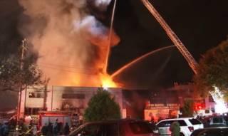 Пожар в ночном клубе Окленда. Есть жертвы