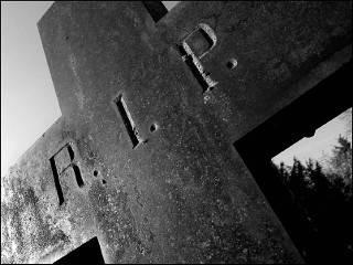 На похоронах в Броварах родственники убитых полицейских рассказали все, что думают по этому поводу