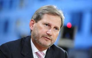 Еврокомиссар Хан: С Украиной «играют в прятки», чтобы не давать безвиз