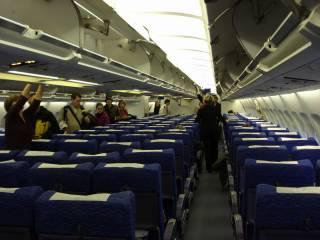 Самолет из Киева экстренно сел в Самаре из-за пьяного узбека